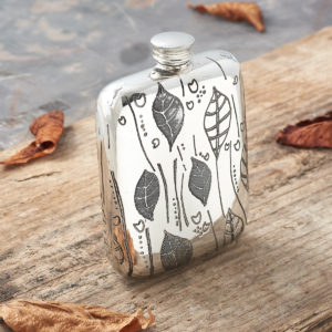 Personalised Natural Hip Flask Collection