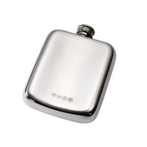 Personalised 4 oz Tree of Life Tree Pewter Pocket Hip Flask
